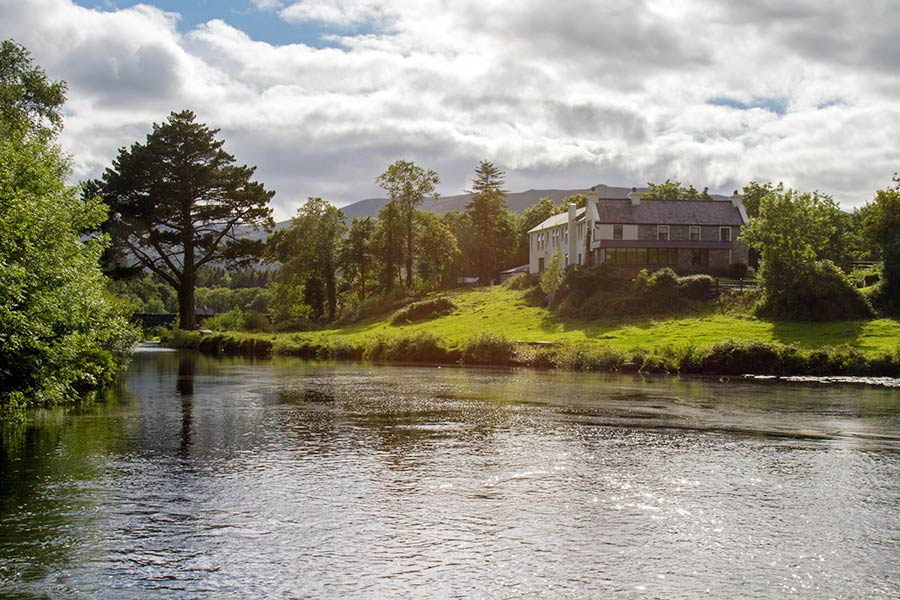 Blackstones House by Caragh River