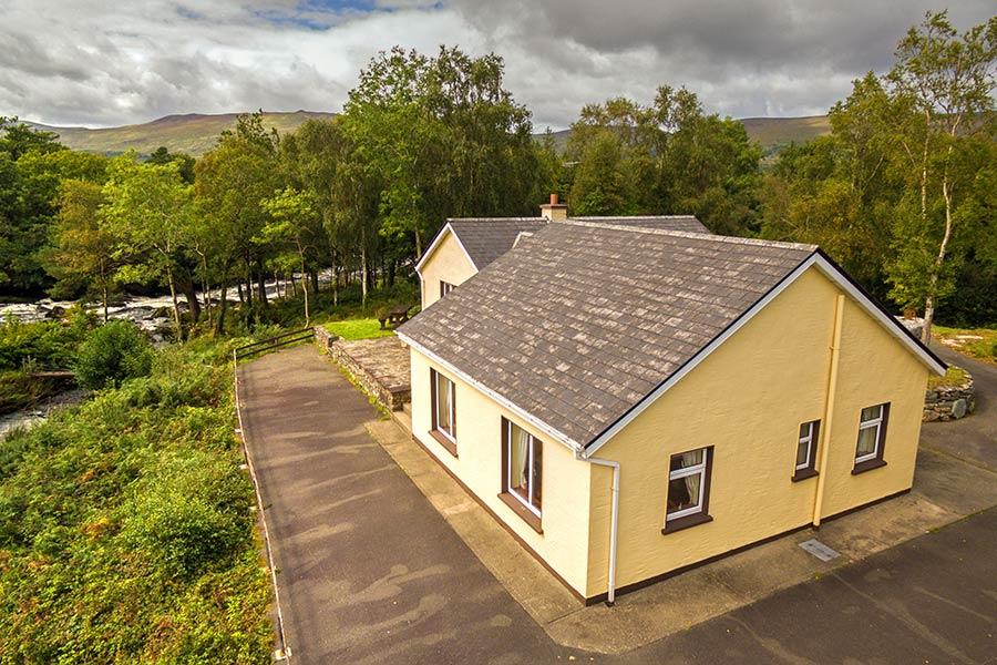 Blackstones Lodge Aerial