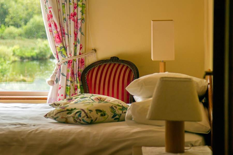 Blackstones Lodge Bedroom detail