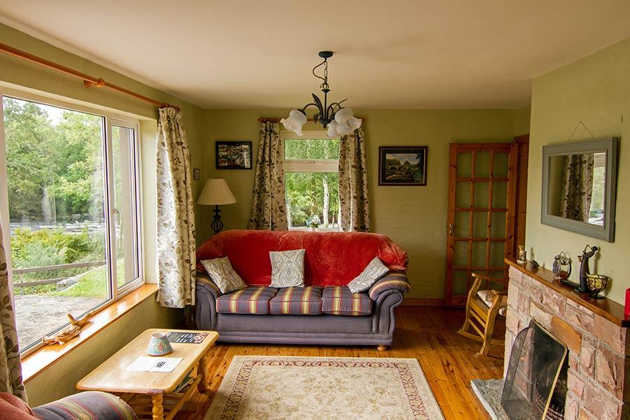 Blackstones Lodge Living Room