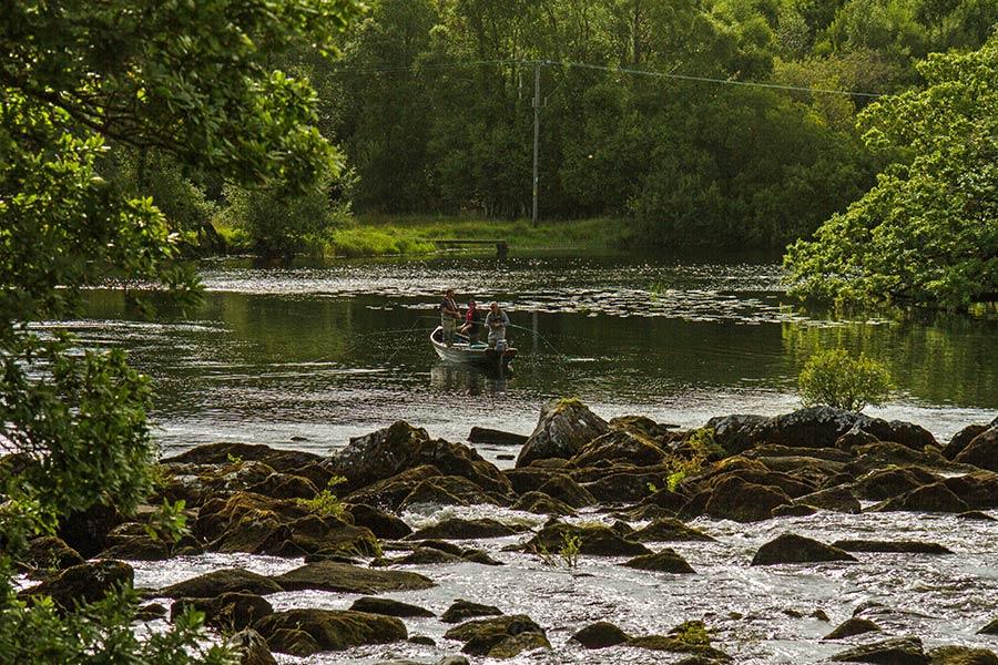 Fishing near Blackstones House