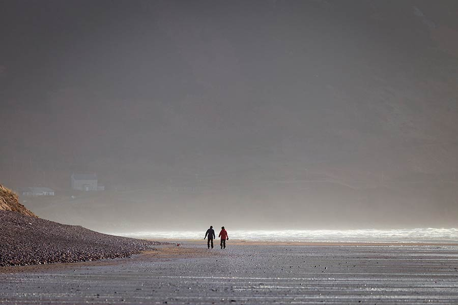 Walking on Rossbeigh
